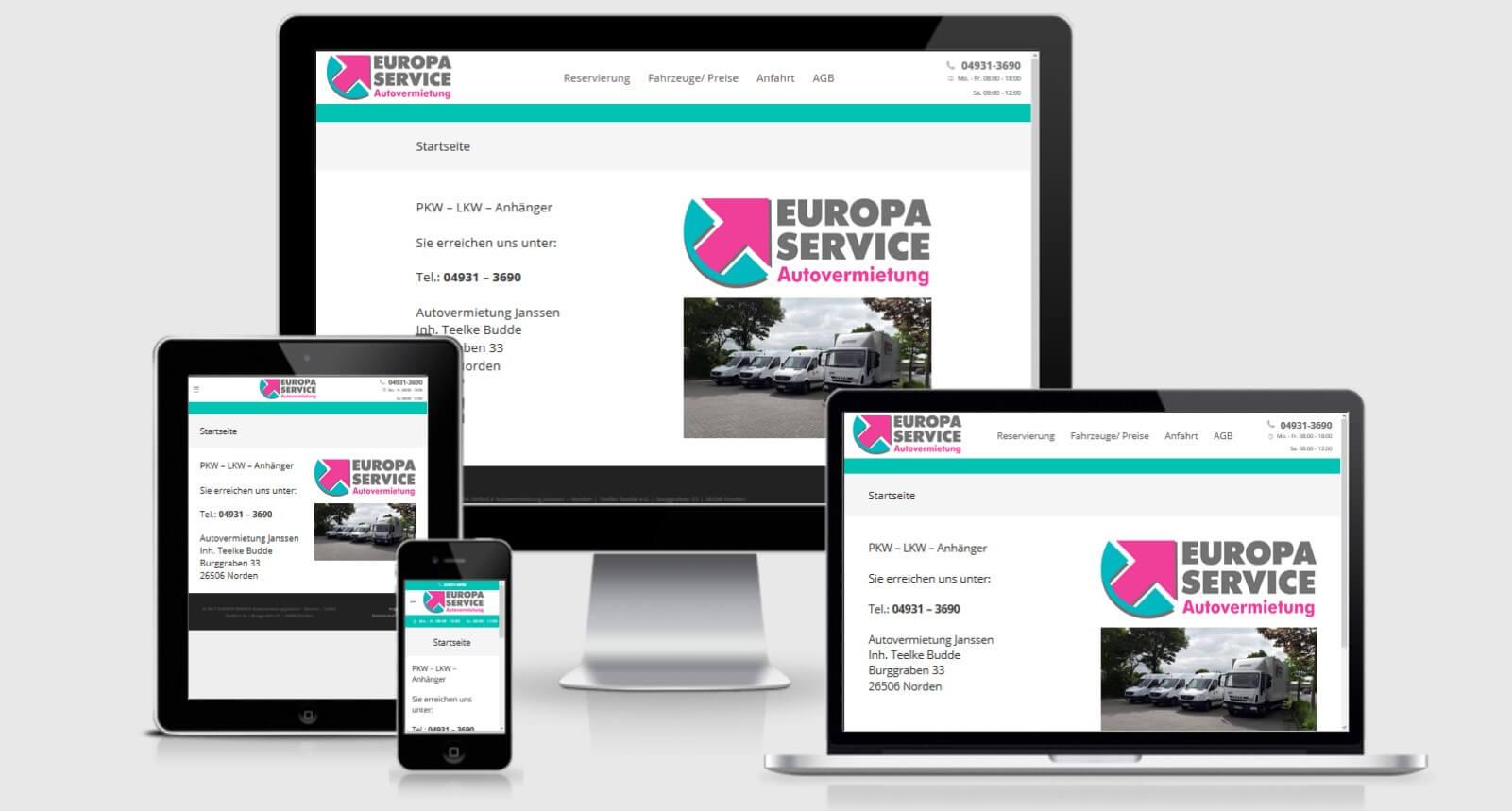 responsive webdesign referenz