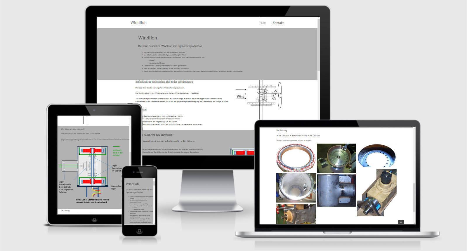 responsive ansicht website windfloh
